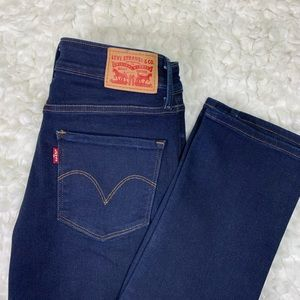 Levi's jeans mid rise skinny size 4